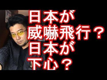 日本が再び威嚇飛行?日本の哨戒機が低空威嚇飛行した?レーダー照射問題につづき