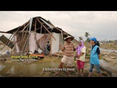 【字幕付き】インドネシア地震の被災者へ緊急用テントを空輸